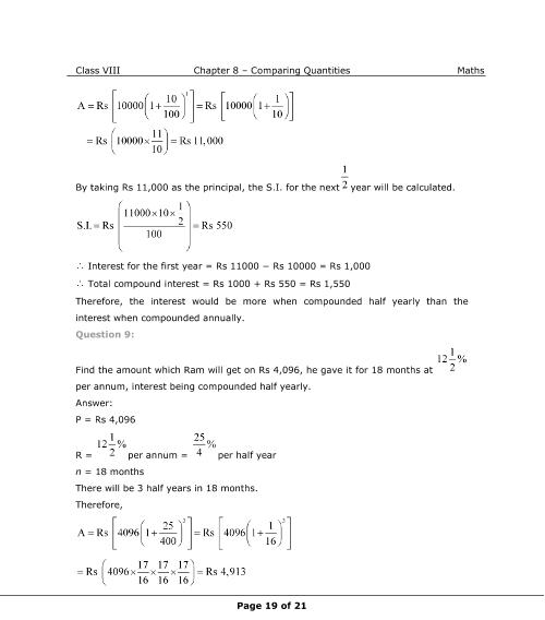 Pdf math 8th class book