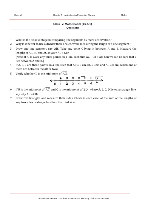 NCERT Solution-Understanding Elementary Shapes part-1