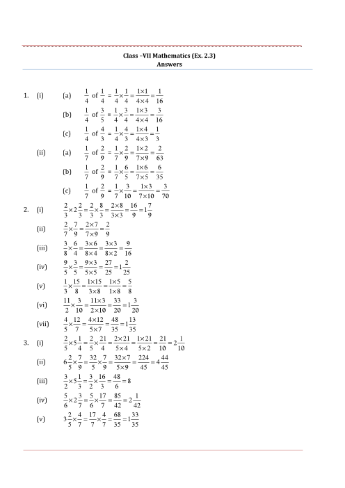 Ncert solutions for class 7 maths chapter 2 fractions and decimals fandeluxe Choice Image