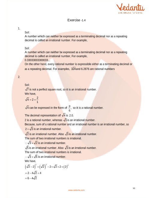 RD Sharma Class 9 Solutions Chapter 1 Number System part-10