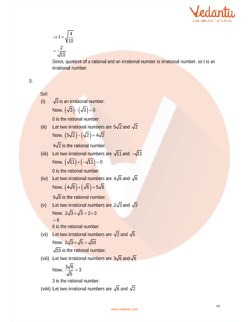 RD Sharma Class 9 Solutions Chapter 1 Number System part-15