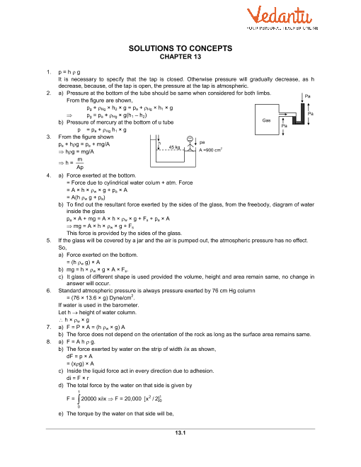 Chapter 13 Fluid Mechanics part-1