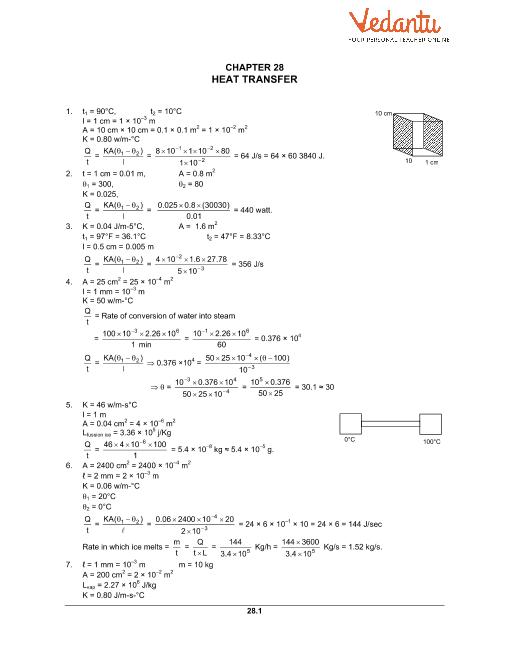 Chapter 28 Heat Transfer part-1