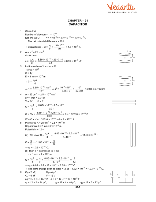 Chapter 31 Capacitors part-1