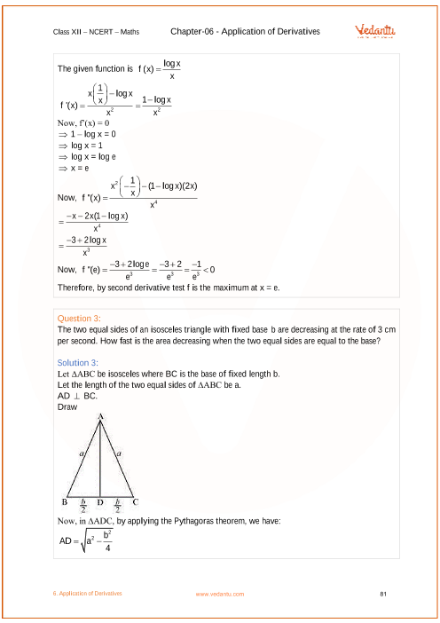 Ncert solutions for class 12 maths chapter 6 application of ncert solutions for class 12 maths chapter 6 application of derivatives ccuart Choice Image