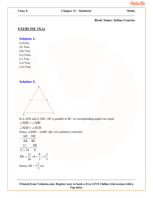 Chapter 15 - Similarity part-1
