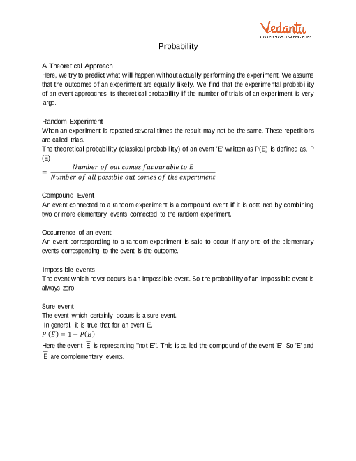 Chapter 15 - Probability part-1