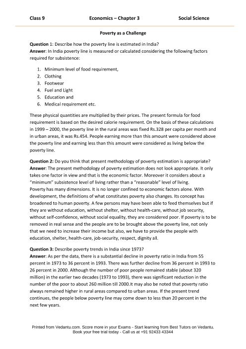 CBSE9 Economics Chapter 3 part-1