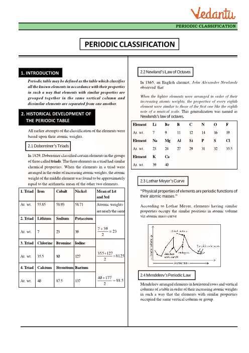 Class 11 chemistry revision notes for chapter 3 classification of class 11 chemistry revision notes for chapter 3 classification of elements and periodicity in properties urtaz Images
