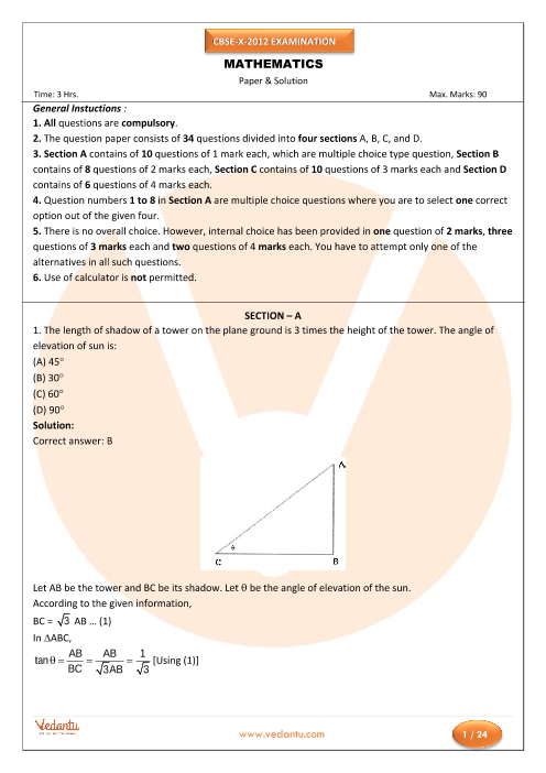 maths question paper cbse The class 10 maths paper was initially cancelled by cbse after reports emerged that the question paper had been leaked cbse later decided that a re-examination was not warrented.