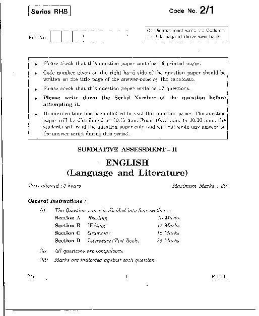 CBSE_Question_Paper_Class_10_English_Lang&Literature_2011 part-1