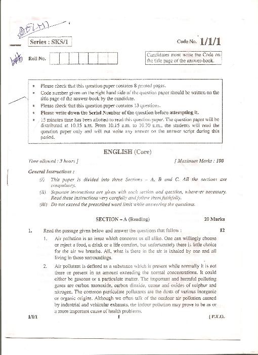 CBSE_Question_Paper_Class_12_English_Core_2013 part-1