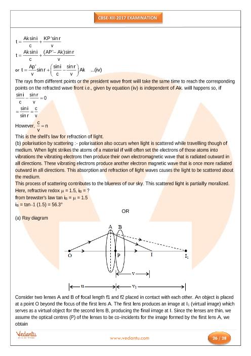 Cbse Physics Paper 2014 Pdf