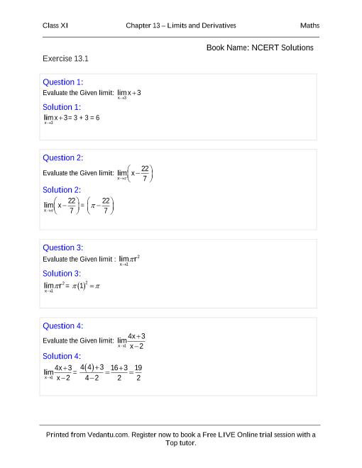 Maths Book Class 11 Pdf
