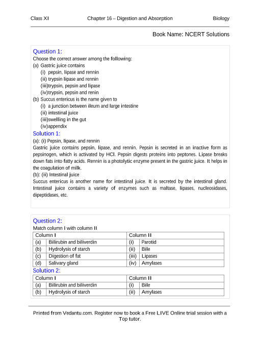 Ncert books free download for class 11 biology chapter 16 ncert books free download for class 11 biology chapter 16 digestion and absorption malvernweather Choice Image