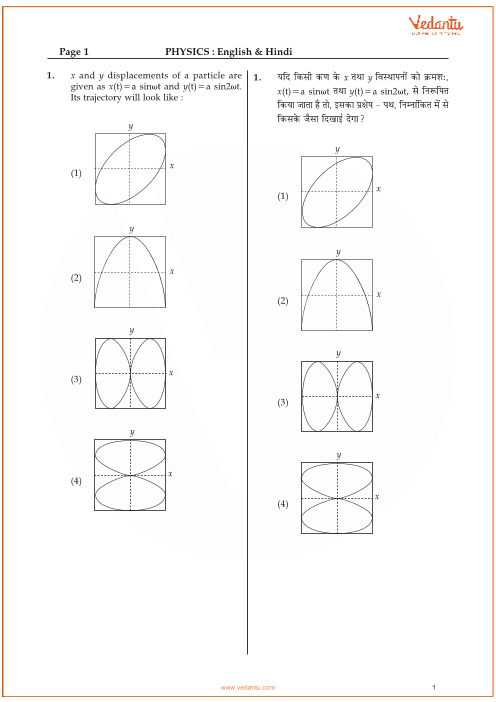 JEE Main Physics QP with answer key-10.04.2015 part-1