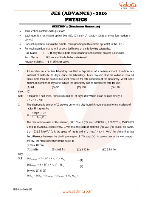 Phy_JEE_Adv_previous_year_paper_2016_P2 part-1