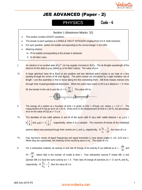 Phy_Final-JEE_Adv_previous_year_paper_2015_P2 part-1