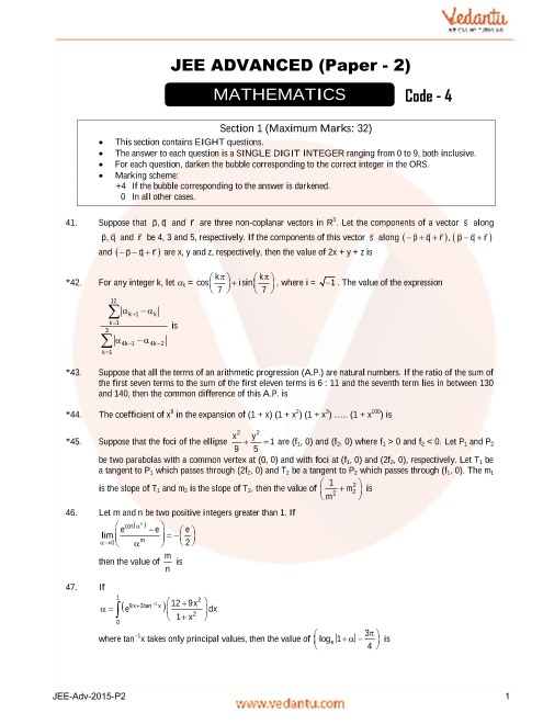 Maths_Final-JEE_Adv_previous_year_paper_2015_P2 part-1