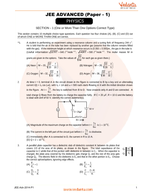 Physics_JEE_Adv_previous_year_paper_2014_P1 part-1