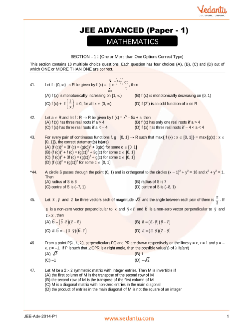Maths_JEE_Adv_previous_year_paper_2014_P1 part-1