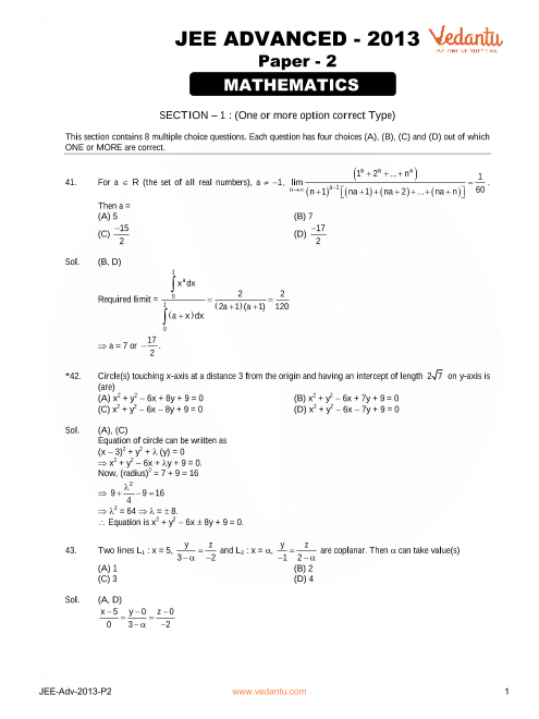 Maths_JEE_Adv_previous_year_paper_2013_P2 part-1