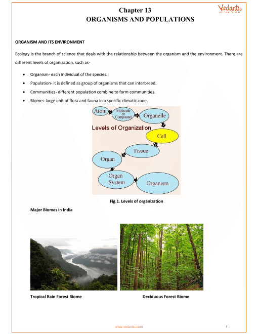 Chapter-13-Organisms and Populations part-1