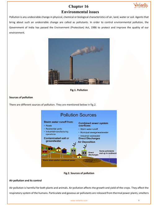 Chapter-16-Environmental issues part-1