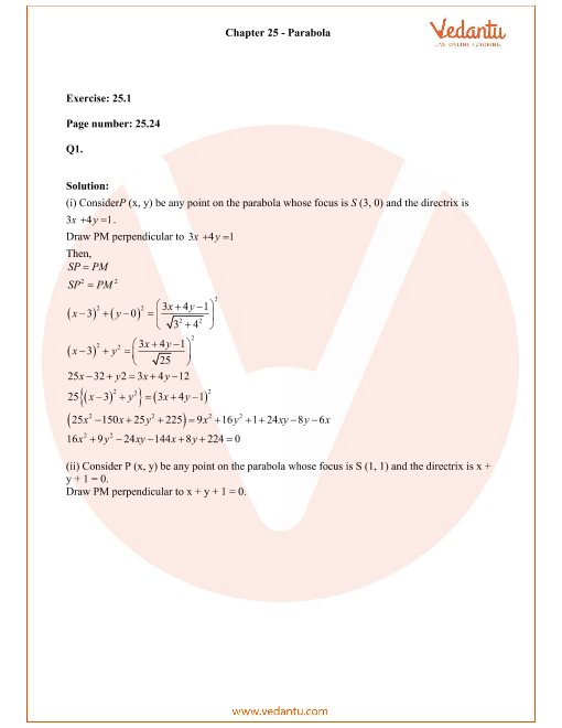 RD Sharma Class 11 Solutions Chapter 25 part-1