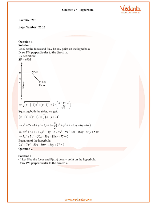 RD Sharma Class 11 Solutions Chapter 27 part-1