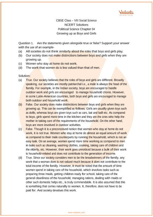 NCERT Solutions for Class 7 Social Science Political life Chap-4 part-1