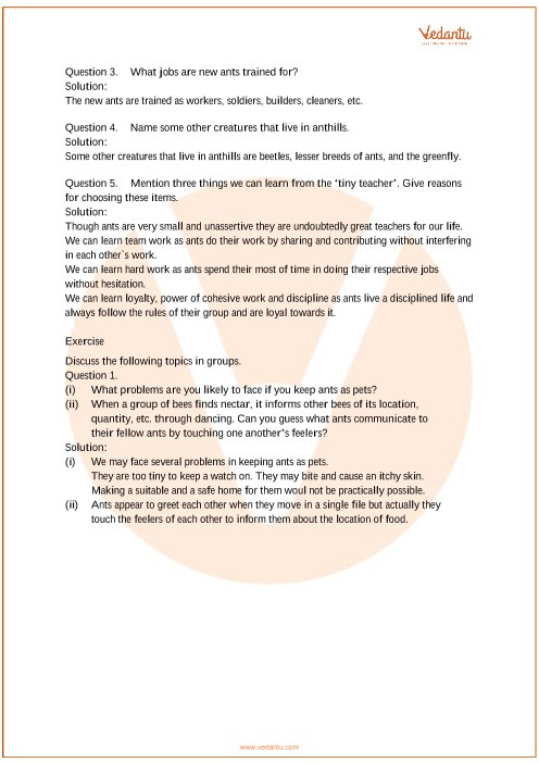NCERT Solutions Class 7 English An Alien Hand Chapter-1 part-2