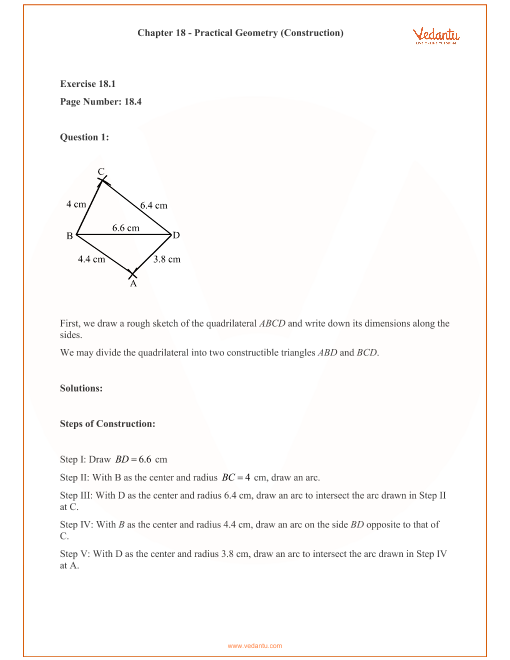 RD Sharma Class 8 Solutions Chapter 18 part-1