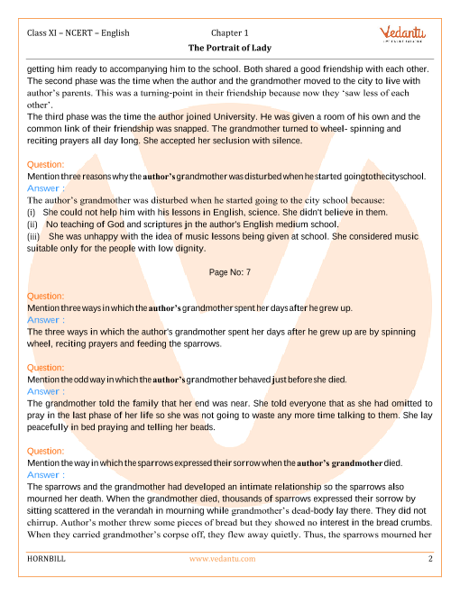 Ncert Textbook In English For Class 11 Hornbill .pdf