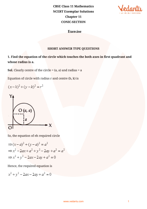 NCERT Exemplar Class 11 Maths Chapter-11 part-1