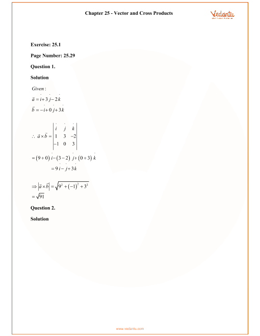 RD Sharma Class 12 Solutions Chapter 25 part-1
