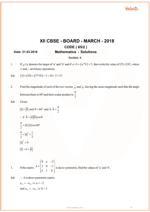 Cbse 12th Previous Year Question Papers Pdf
