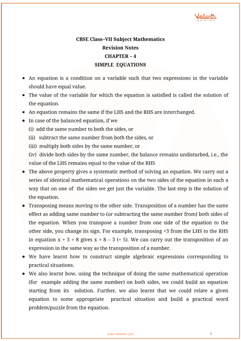 Class_7_maths_key_notes_ch4_simple_equations part-1