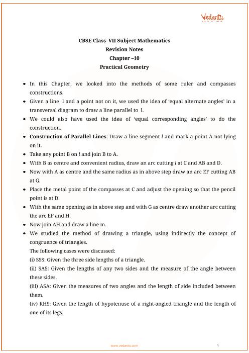 Class_7_maths_key_notes_ch10_practical_geometry part-1