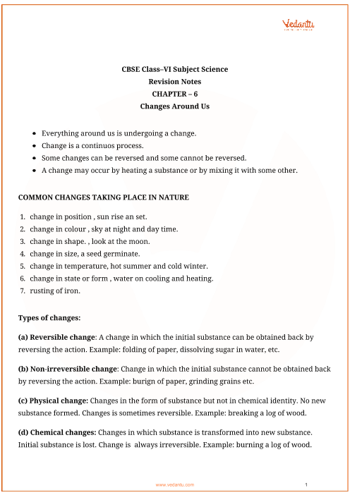 Class_6_science_ch6_changes_around_us part-1