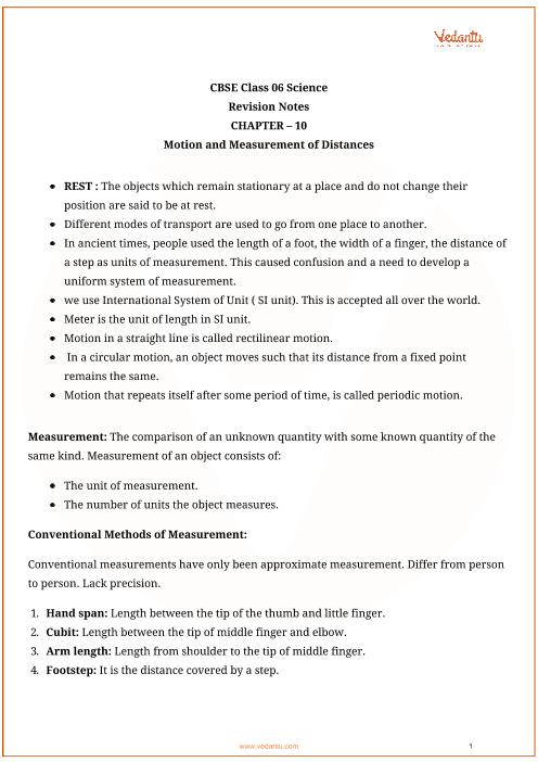 Class_6_science_ch10_motion_and_measurement_of_distances part-1