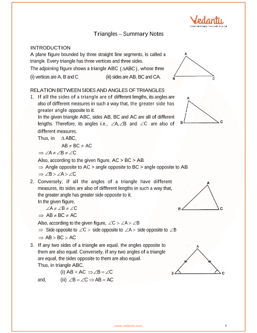 ICSE Class_09_maths_ch9_Triangles Notes part-1