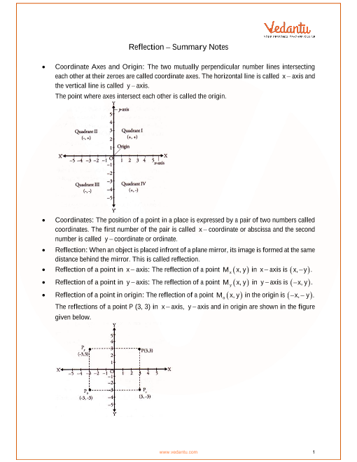 ICSE Class_10_maths_ch12_Reflection Notes part-1