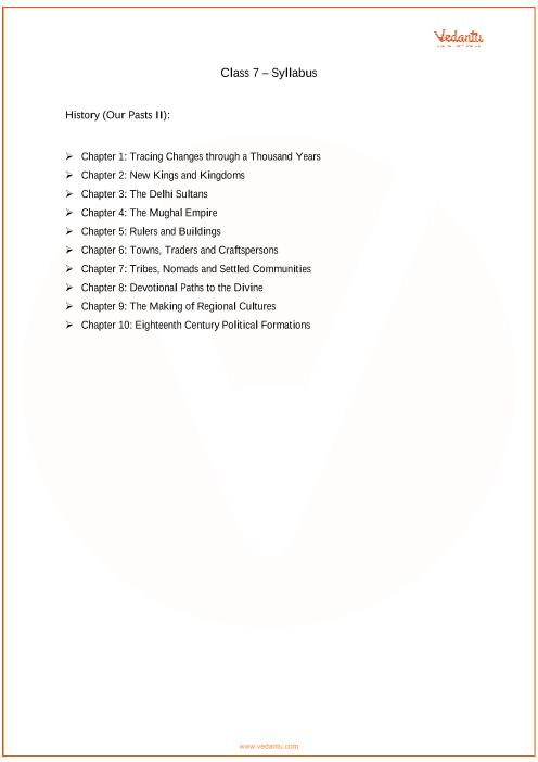 Class 7_Social_Science_2018-2019_Syllabus part-1