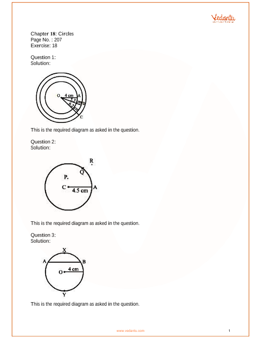 RS Aggarwal Class 6 solutions Chapter 18_Circles part-1