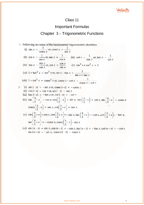 Chapter 3 - Trigonometric Functions part-1