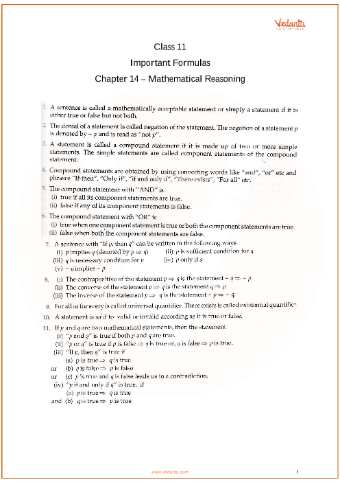 Chapter 14 - Mathematical Reasoning part-1