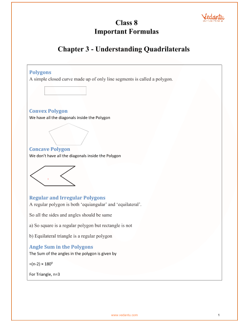 Chapter 3 - Understanding Quadrilaterals part-1