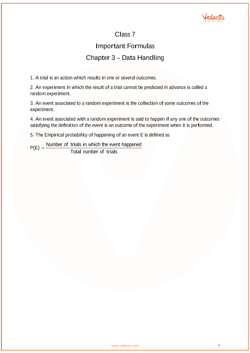 Chapter 3 - Data Handling part-1