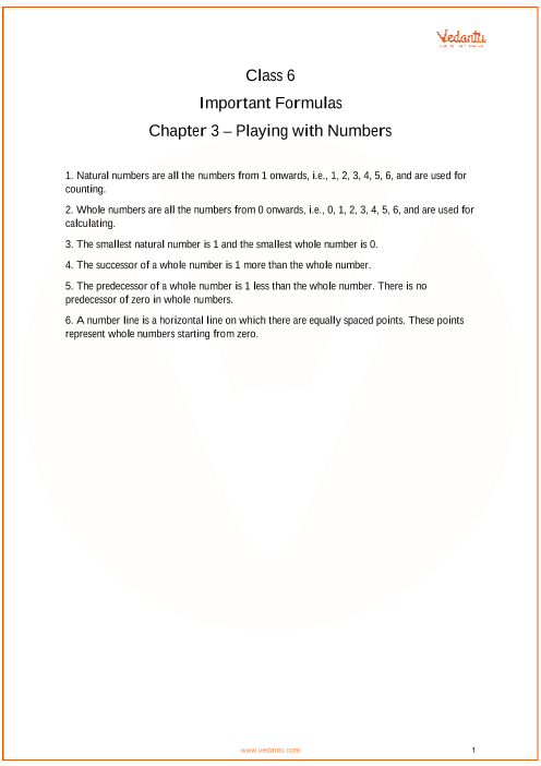 Chapter 3 - Playing with Numbers part-1